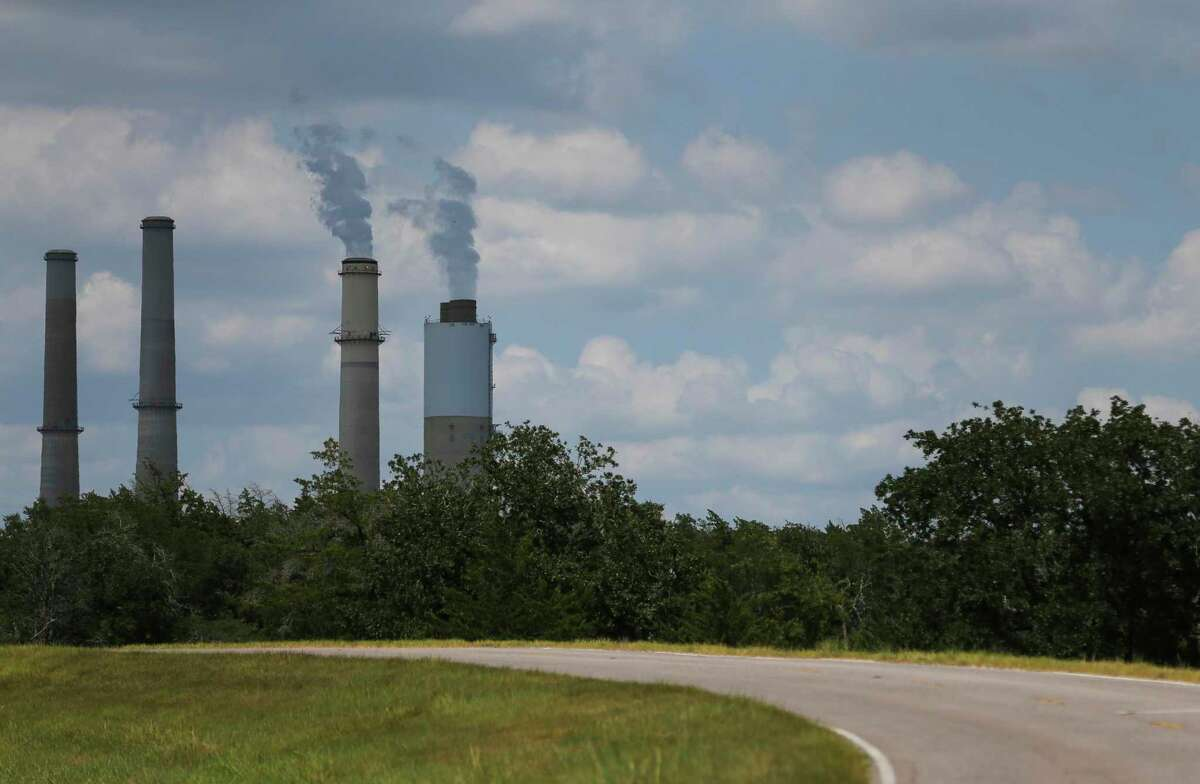 The Fayette Power Project, a coal-fired power plant, operates near La Grange, TX.