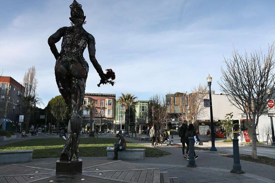 View of Patricia's Green seen looking toward Hayes Street at Octavia Boulevard on Wednesday, Feb. 19, 2020, in San Francisco, Calif. Photo: Liz Hafalia / The Chronicle