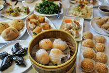 Dim sum served at Hong Kong Lounge II, located at 3300 Geary Blvd.
