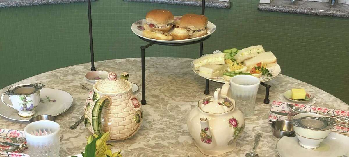 The Tea Crate is located at 26108 Overlook Parkway, Suite 1120 on San Antonio's far North Side.