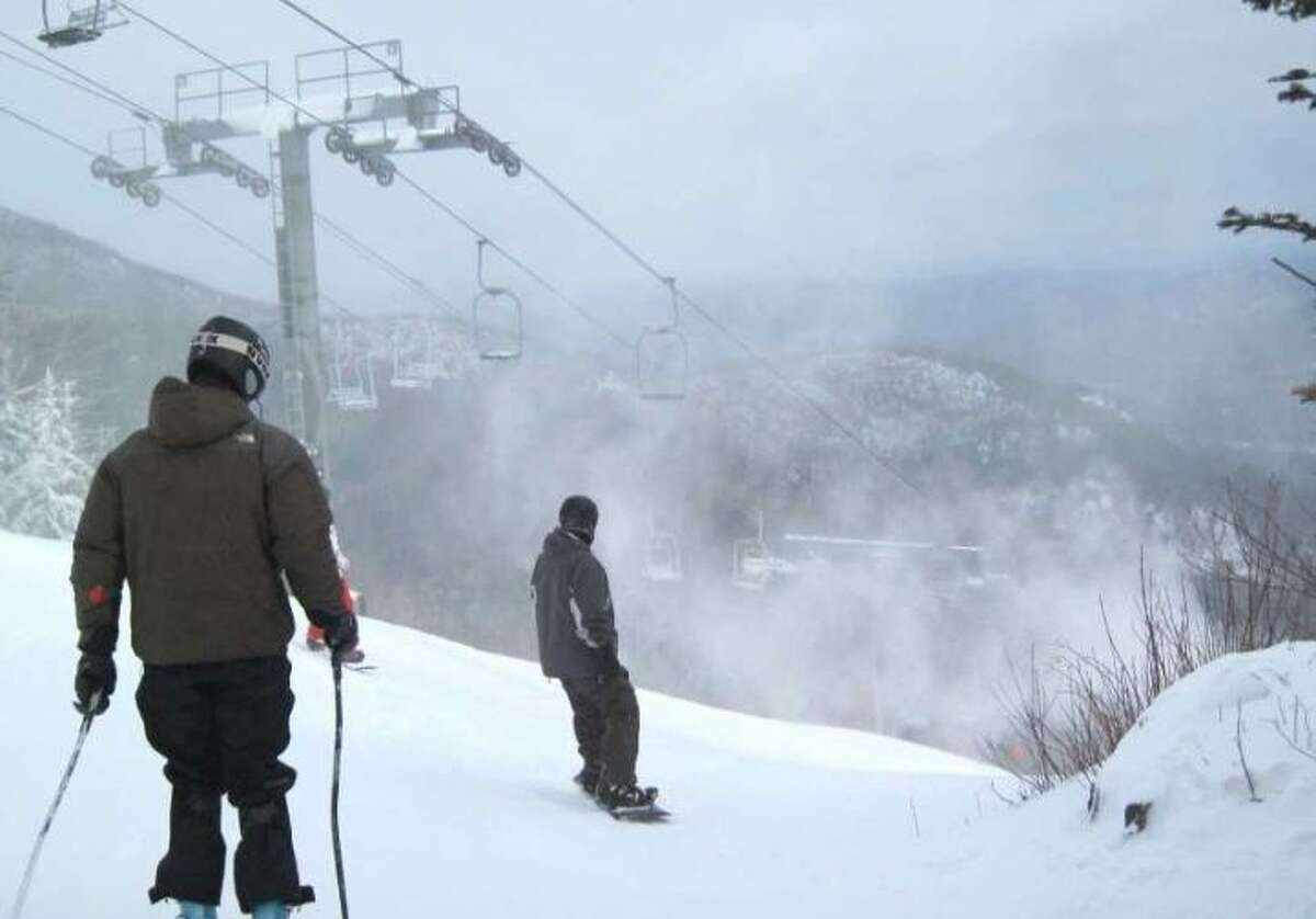 A pair of skiers were recently guided back to safety after getting lost while going out of bounds at Whiteface, pictured here.