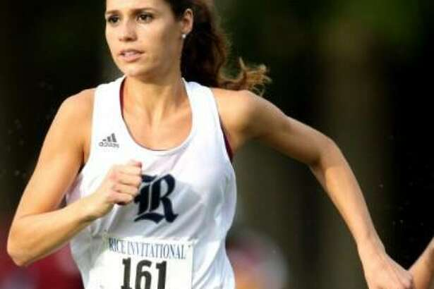 Cali Werner was a decorated runner for Rice University.