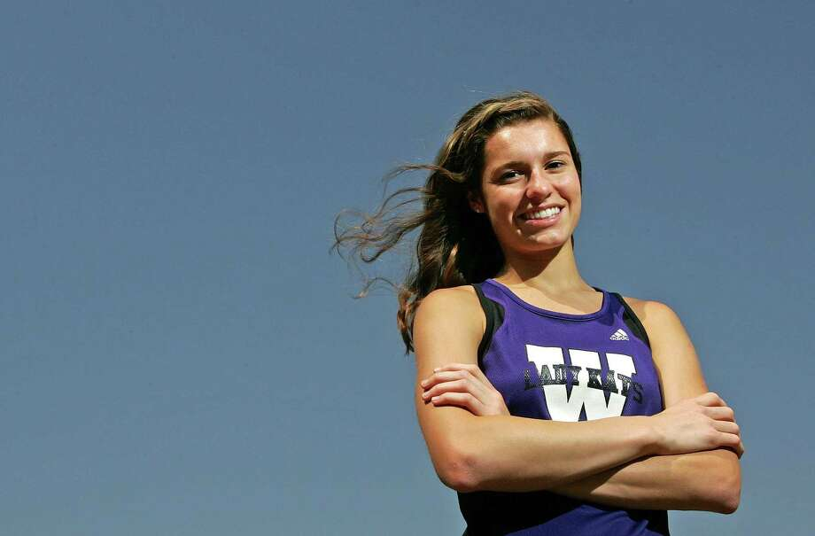 Willis graduate Cali Roper was a two-time state champion in track. Photo: Eric S. Swist / Staff Photo By Eric S. Swist / Staff photo by Eric S. Swist