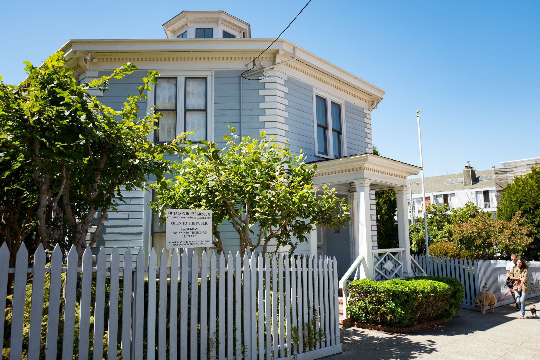 The tin box that solved the mystery of San Francisco's Octagon House