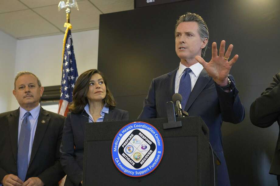 California Governor Gavin Newsom has directed bars and nightclubs to close in California as of March 15, 2020. Photo: Randall Benton, Associated Press