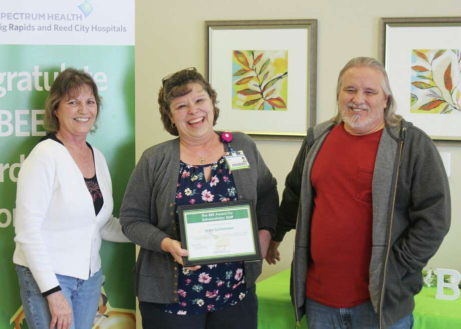 Financial counselor Jean Schember was nominated by Rhonda Krenz, whose husband was a patient. (Courtesy photo)