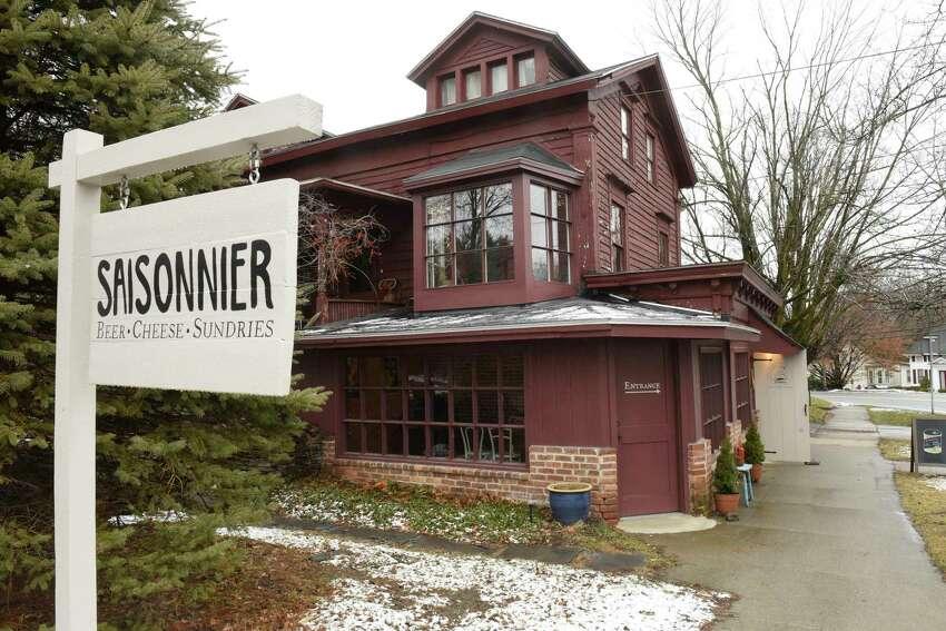 Exterior of Saisonnier on Thursday, Feb. 13, 2020 in Kinderhook, N.Y. (Lori Van Buren/Times Union)