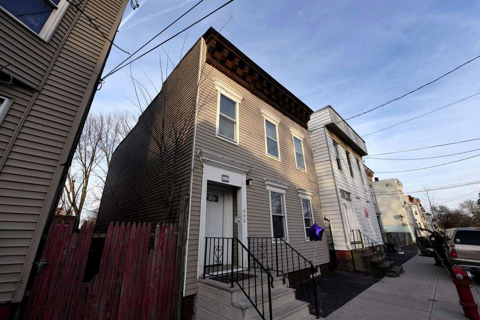 Exterior of the newly renovated Albany Community Land Trust property at 463 First St. on Monday, Feb. 24, 2020, in Albany, N.Y. (Will Waldron/Times Union)