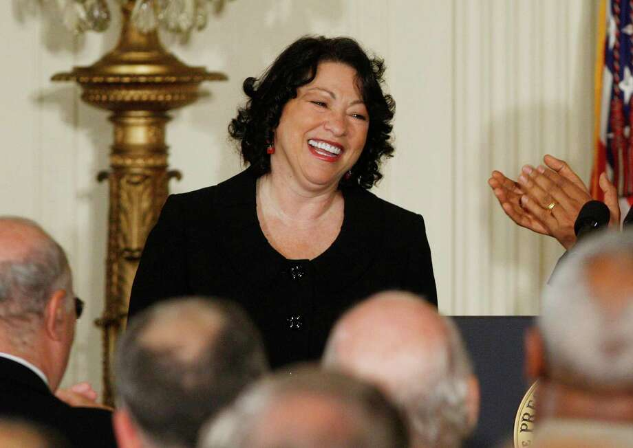 Supreme Court Justice Sonia Sotomayor is sore over how the current Supreme Court has bowed to the Trump White House even in standard administrative matters with long-standing precedents. Photo: Ron Edmonds /Associated Press / AP2009