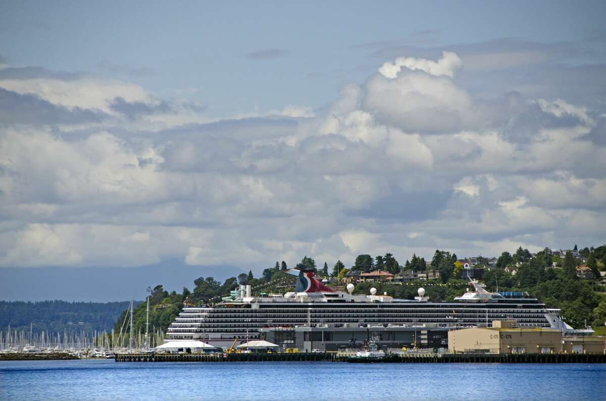 Seattle cruise ship port.