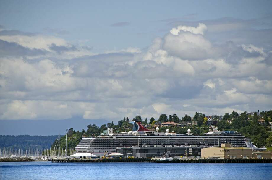 Seattle cruise ship port. Photo: Mitch Diamond/Getty Images