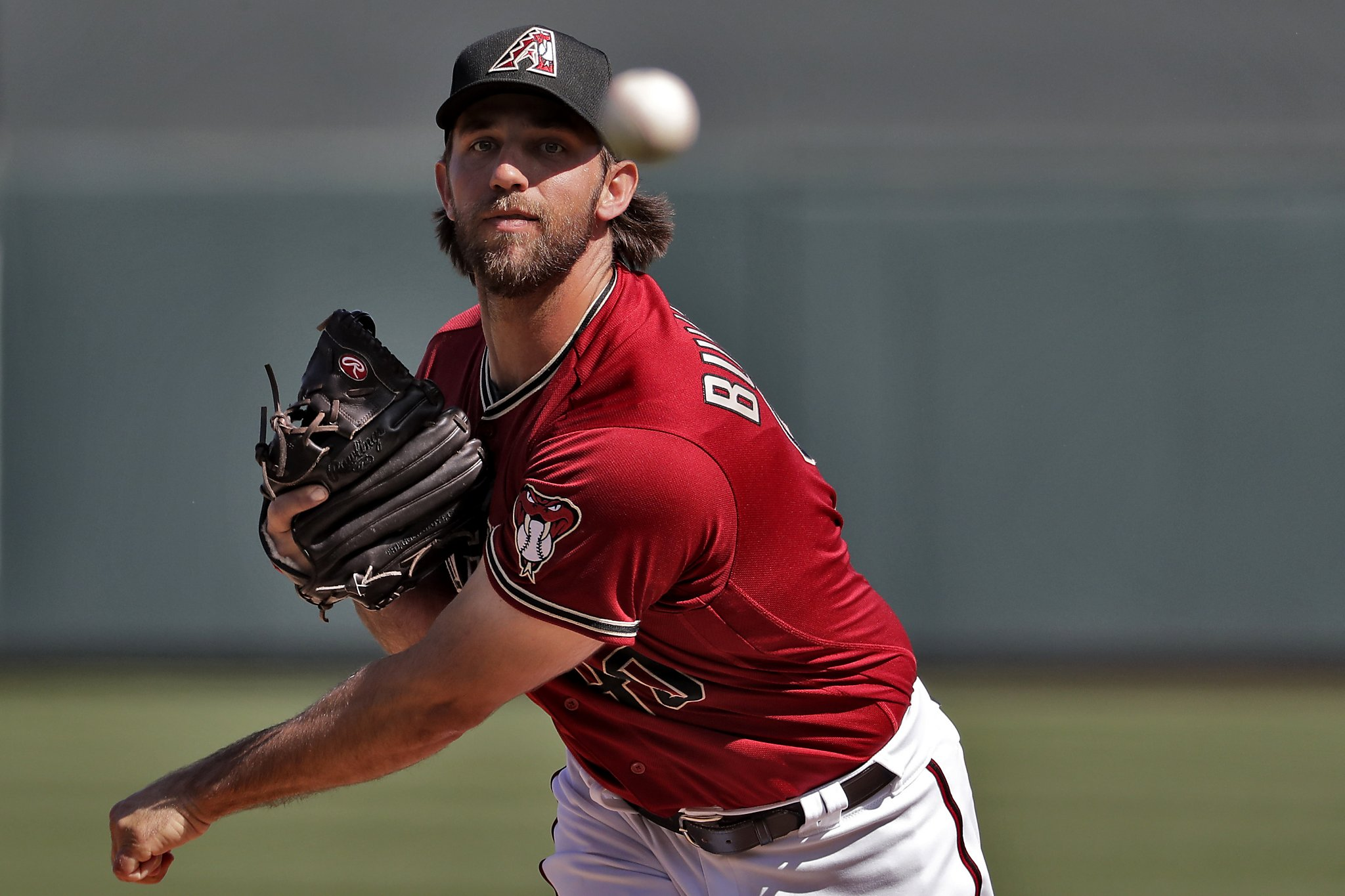 Madison Bumgarner refuses to get roped into rodeo talk after fine Arizona debut