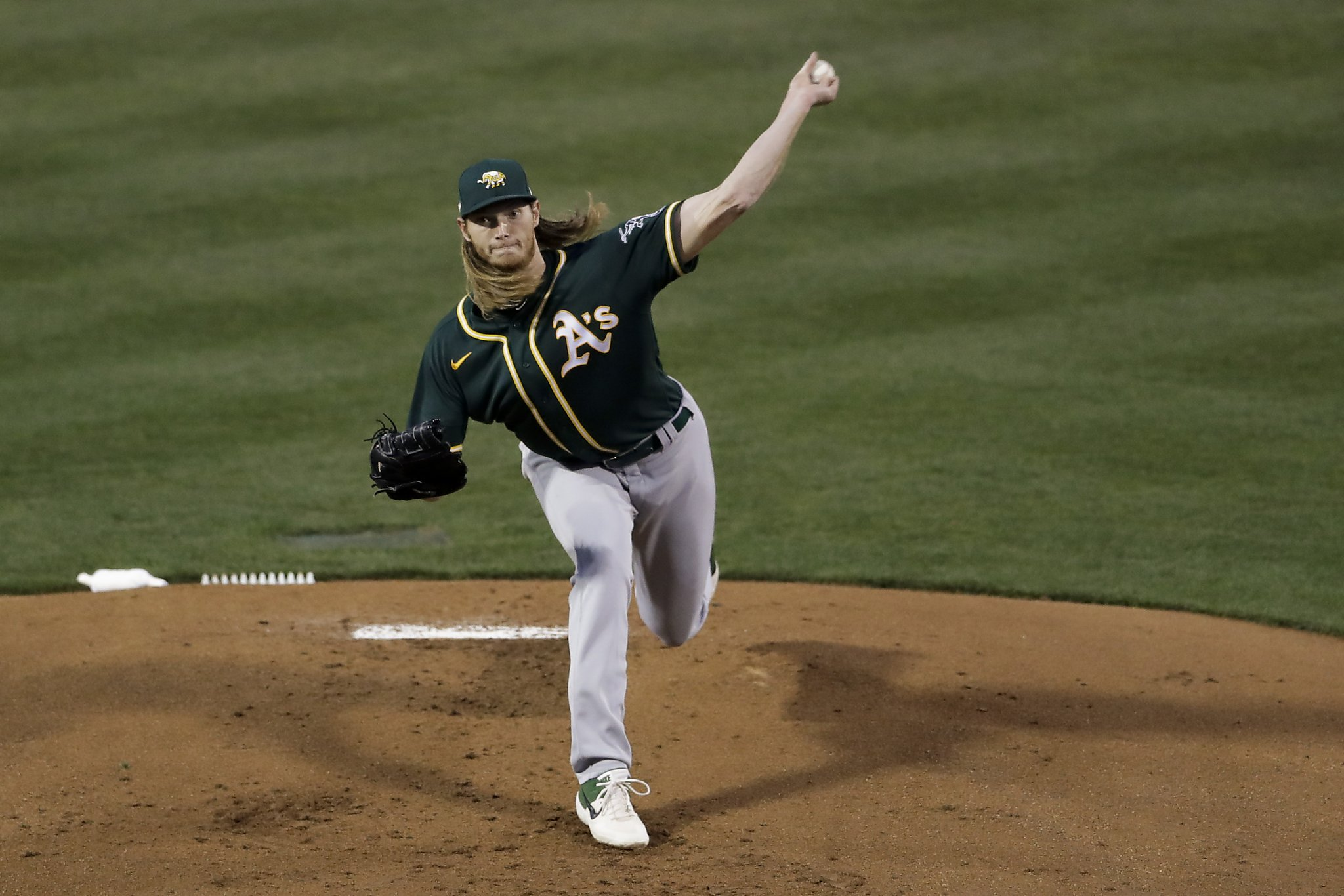 A's rookie A.J. Puk impresses again, this time against tough Rockies lineup