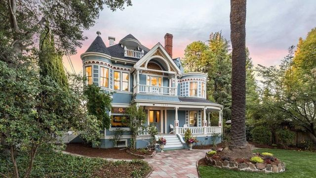 Is This Queen Anne Victorian the Most Refined Residence in Palo Alto?