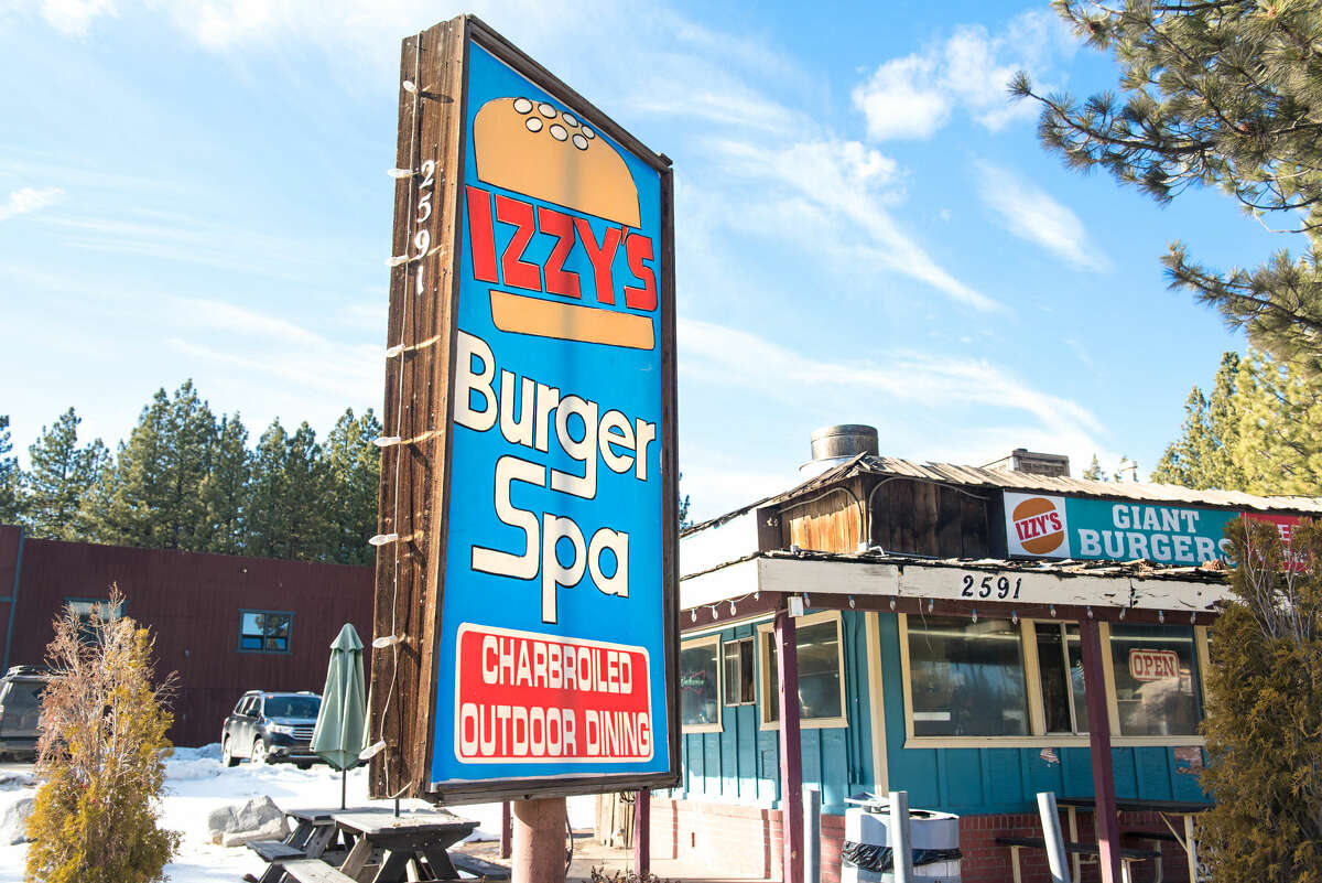 Family-run Izzy's Burger Spa, in South Lake Tahoe, has been serving up fresh charbroiledburgers since 1982.