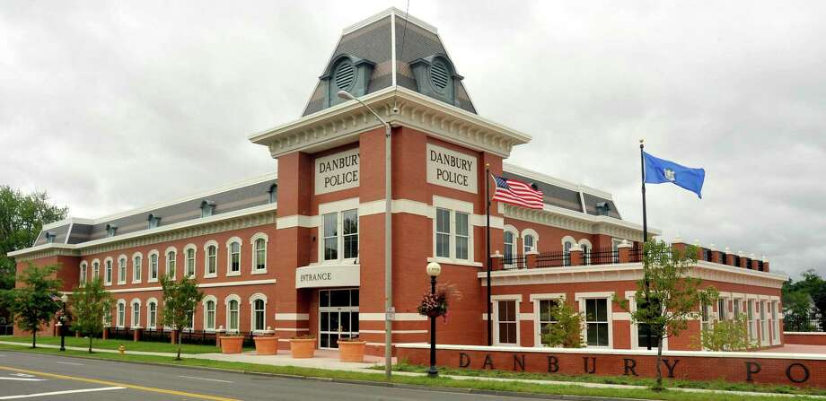 The Danbury police station . Photo: Michael Duffy / ST / The News-Times