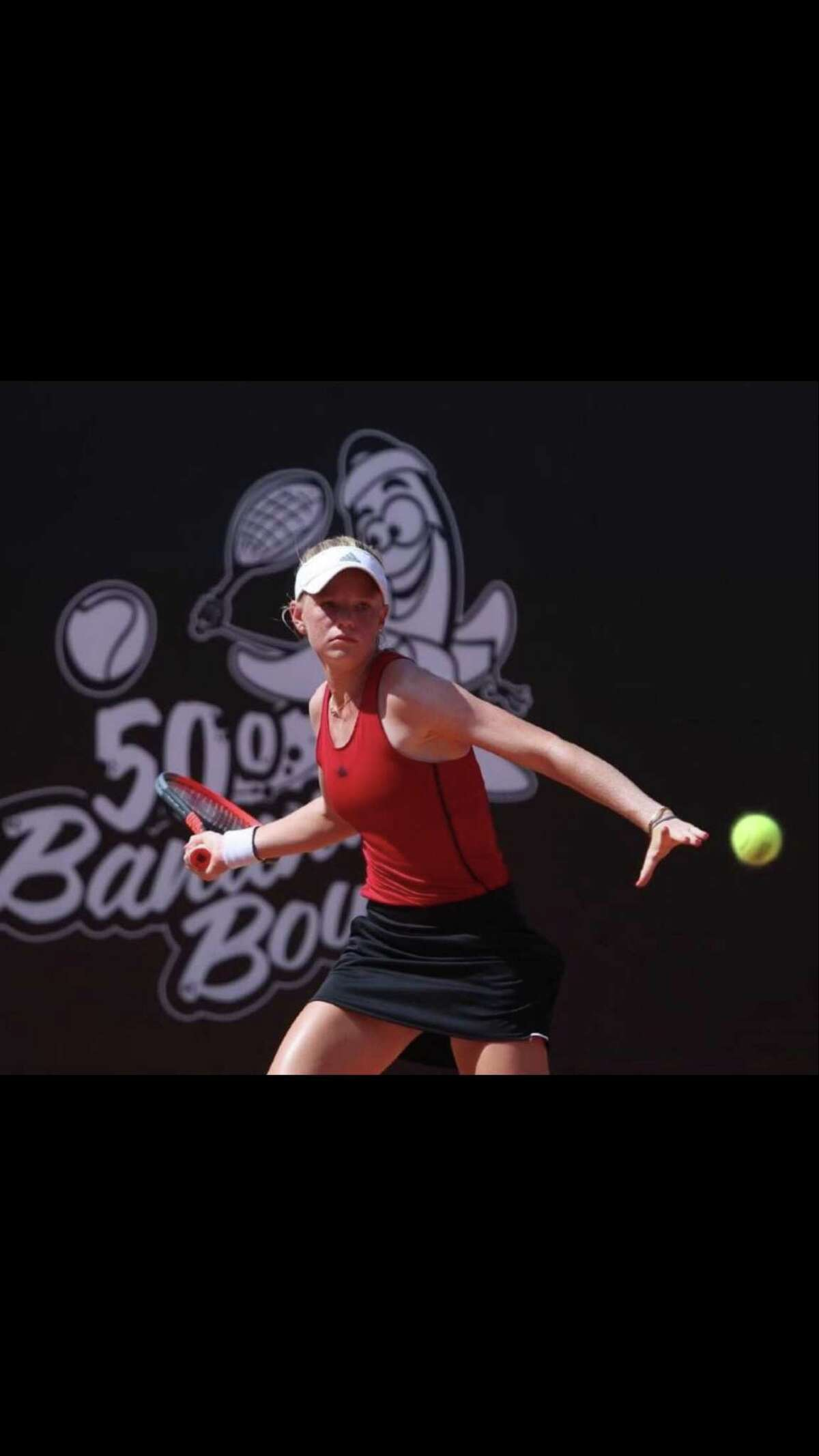 Madison Sieg, a Greenwich resident, has seen her ranking rapidly improve on the ITF Tour, with a number of solid performances at recent tournaments.