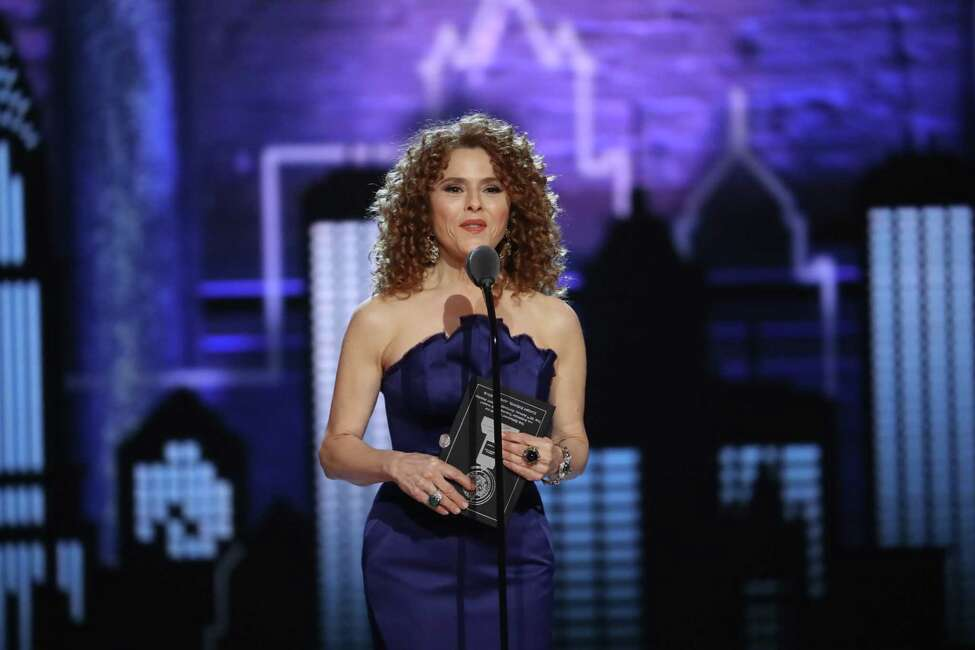 Bernadette Peters presents at the 72nd Annual Tony Awards at Radio City Music Hall in New York, June 10, 2018. (Sara Krulwich/The New York Times)