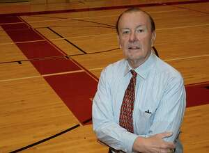 Super Gold Girls Basketball Coach of the Year Dennis Skeadas of Legacy Christian Academy, will be honored at this year's banquet. Photo taken Thursday, March 29, 2018 Kim Brent/The Enterprise