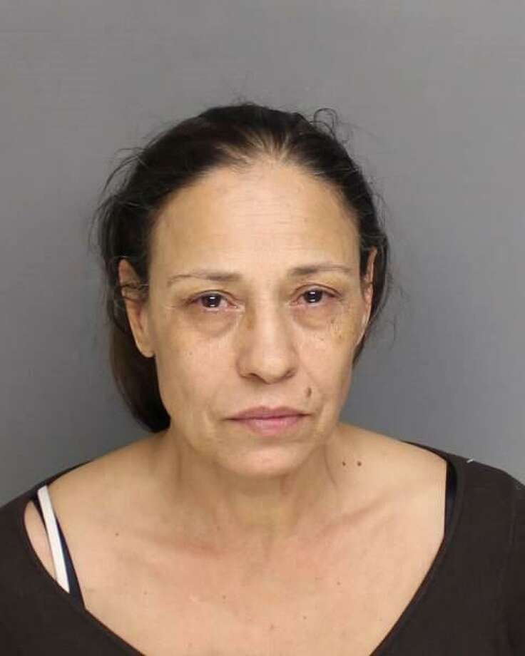 Maria Demelo, 57, was charged with conspiracy to commit third-degree burglary and possession of burglar tools. Photo: Contributed Photo / Bridgeport Police Department