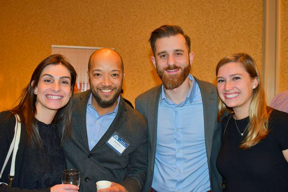 The 27th annual Taste of Stamford event was held on February 27, 2020 at the Stamford Marriott. Guests enjoyed samples of local food and drink. Were you SEEN? Photo: Vic Eng / Hearst Connecticut Media Group