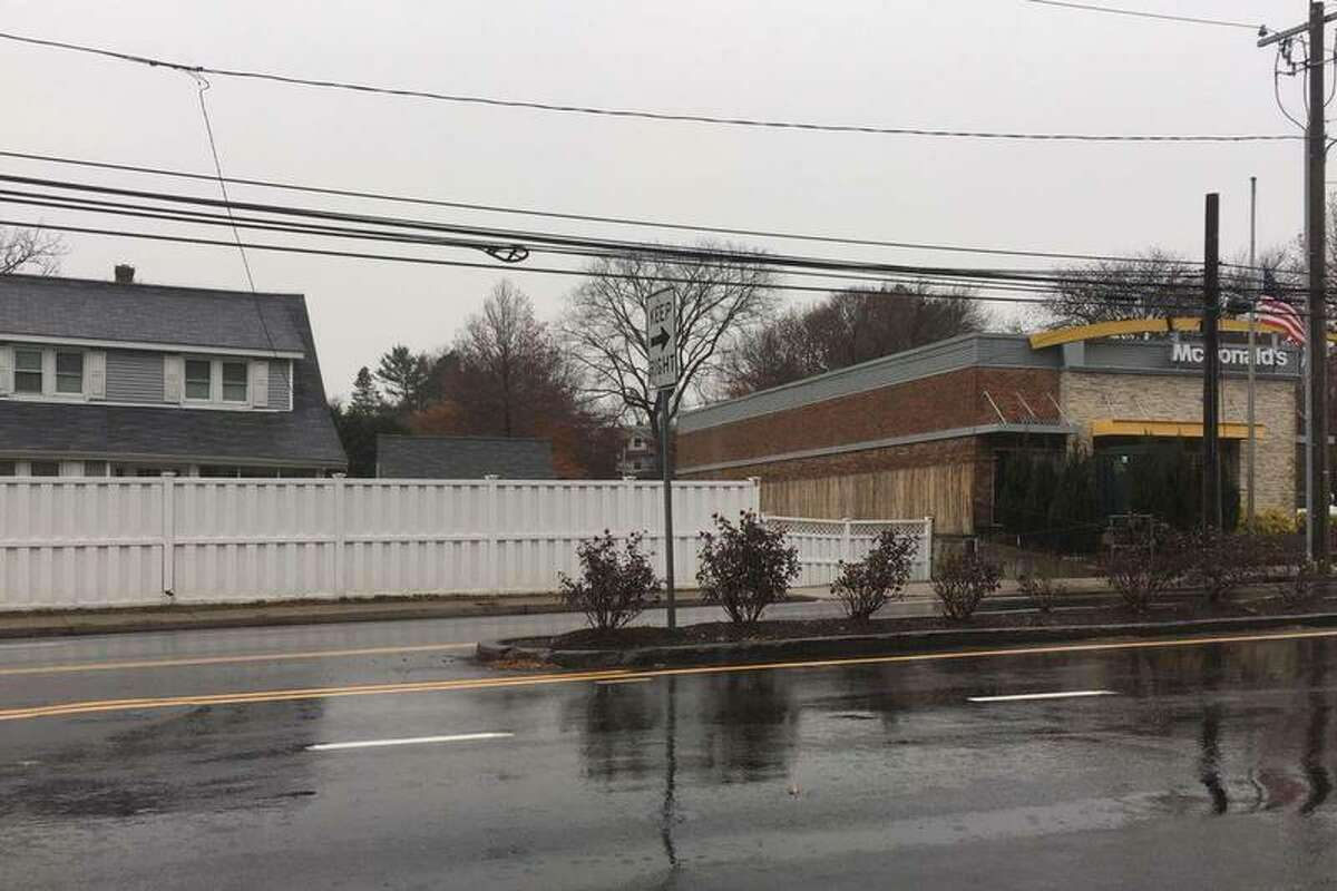 The planned apartment building would go on the site of a home next to the McDonald's in Riverside, directly off I-95.