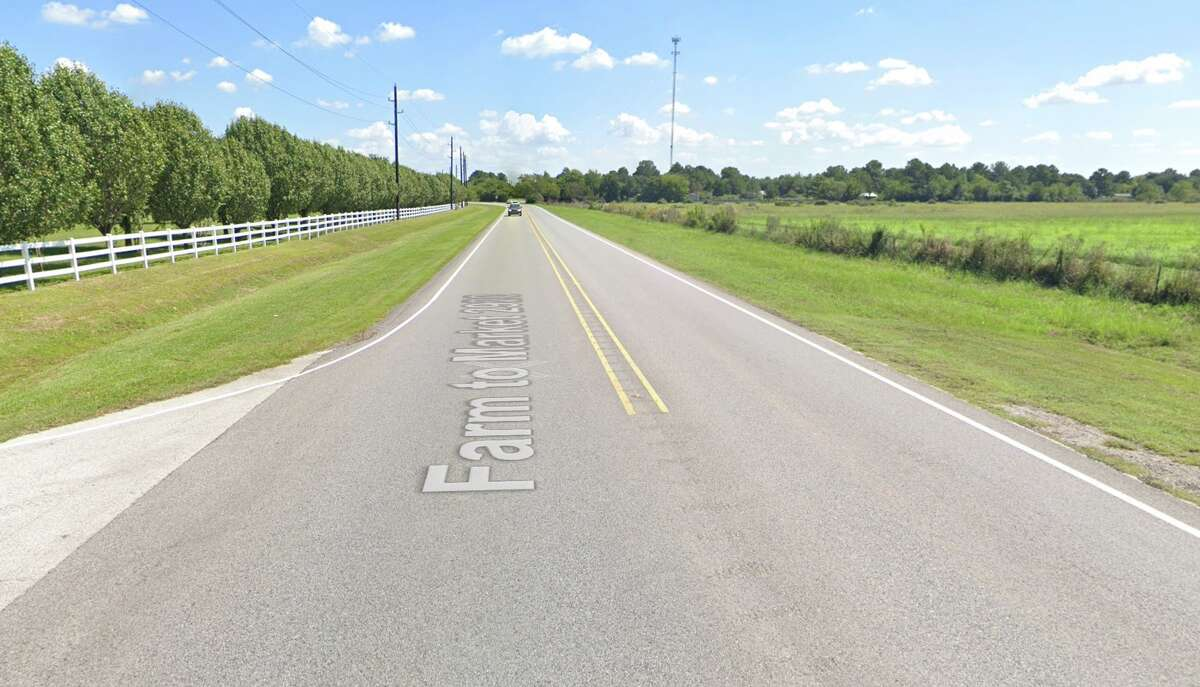 The intersection of FM 2920 and Hunters Creek Way is seen on Google Maps Street View in September 2019.