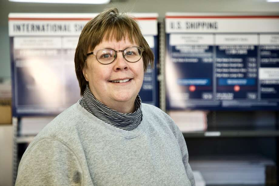 Sherry Evans, postmaster in Hale Center, retires Friday. A retirement reception is planned at the post office from 2-4 p.m. Photo: Don Brown/For The Herald