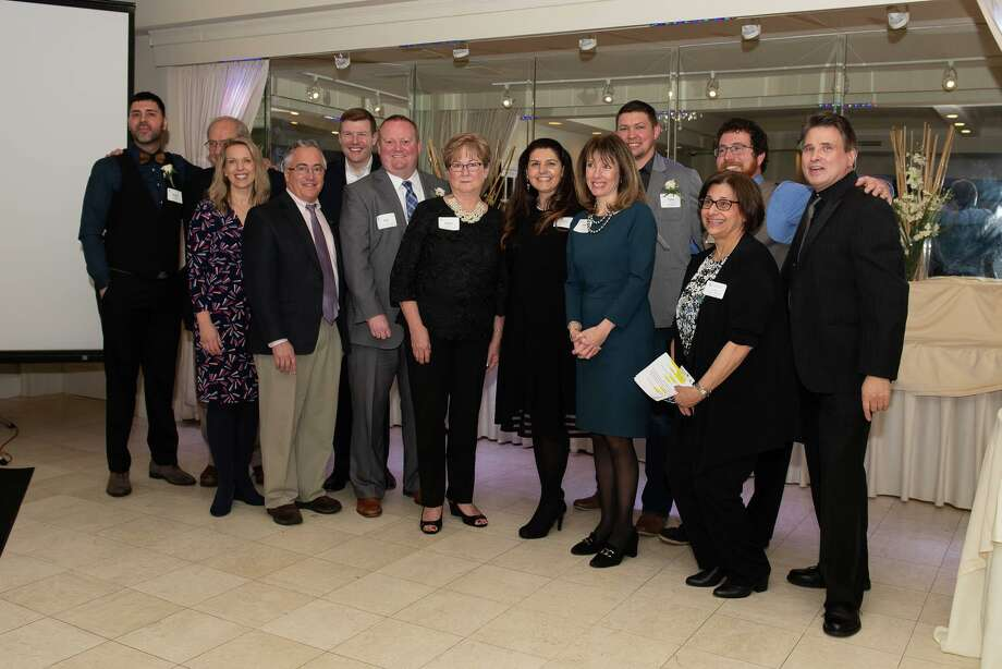 Page Taft Christie's International Real Estate's Guilford Office was named 2019 Employer of the Year by the Shoreline Chamber of Commerce . Photo: Contributed Photo