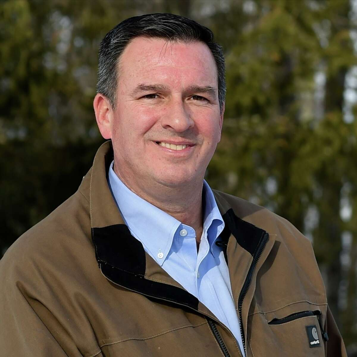 Rich Amedure, a retired state trooper, is the GOP candidate for the 46th state Senate District.