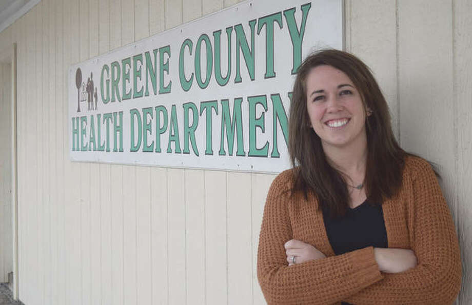 Molly Peters is the new public health administrator at Greene County Health Department in Carrollton. Photo: Rochelle Eiselt | Journal-Courier