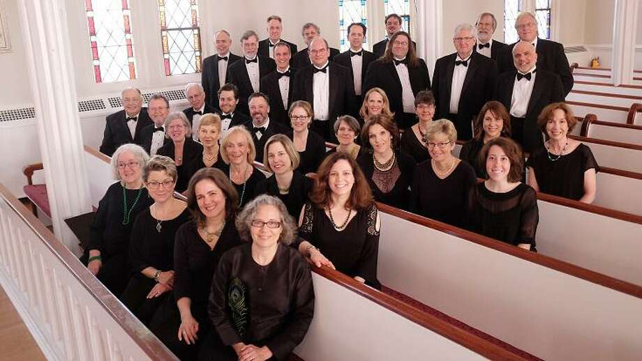 Charis Chamber Voices will perform choral works, under guest conductor Jeremy Wiggins, choral conductor and assistant professor of music at Western Connecticut State University, on March 14 at Presbyterian Church of Mount Kisco and March 15 at Bedford Presbyterian Church. Photo: Richard Ten Dyke / Contributed Photo