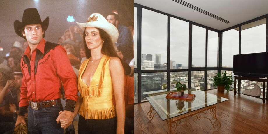 "This recently-listed downtown penthouse is where part of the iconic 1980's film ""Urban Cowboy"" was filmed. >>>Peek inside the property here... Photo: Getty Images/Houston Association Of Realtors"