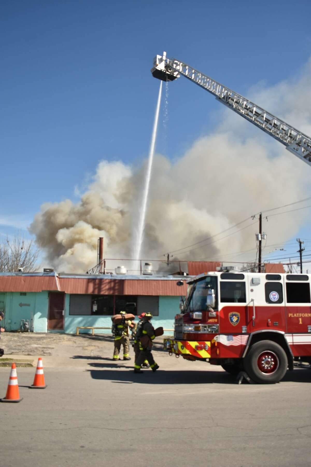 The San Antonio Fire Department responded to a structure fire on the 1500 block of South Flores Street.