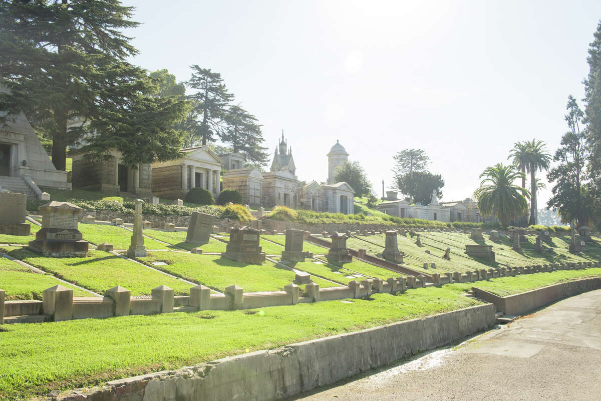 """Millionaire's Row,"" Mountain View Cemetery, Oakland."