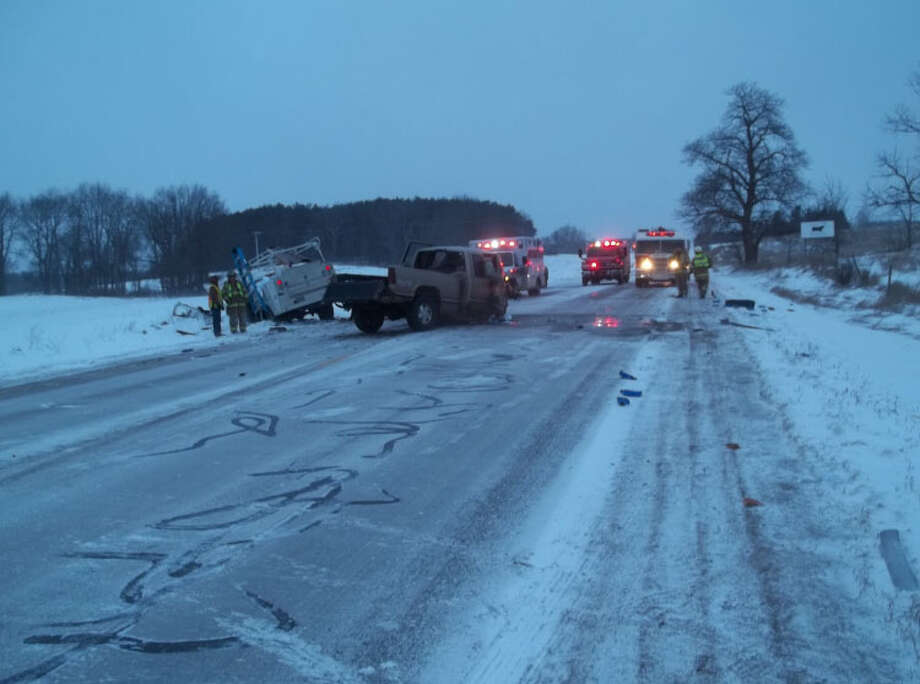 Weather conditions are believed to be a factor in a fatal crash in Richmond Township on Thursday. Photo: Courtesy Photo