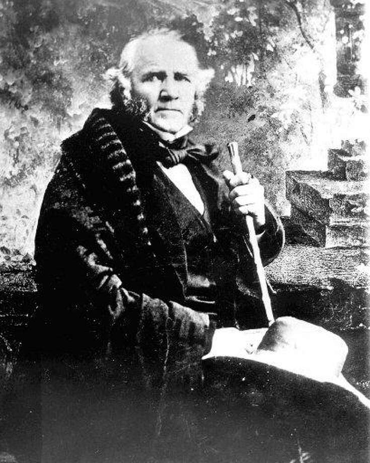 General Samuel Houston (1793-1863). Undated. One of Texas' most well known political figures, Sam Houston led the forces that defeated Mexican General Antonio López de Santa Anna at the battle of San Jacinto on April 21, 1836. He later served Texas as a president of the republic, a U.S. Senator and a governor. / Internal