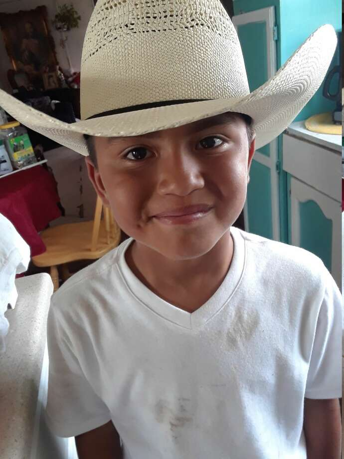 Elijah Belmares, 8, has been in a medically induced coma since Tuesday after getting hit by a bullet during a drive-by shooting. Photo: Courtesy