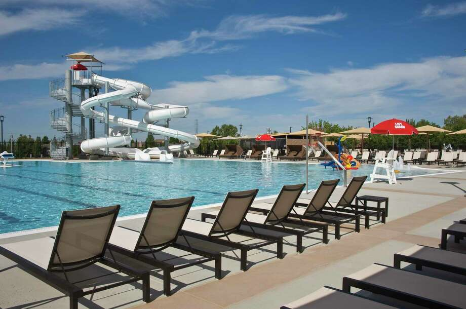 VillaSport Athletic Club and Spa opens in Cinco Ranch on Thursday, March 5, at 9930 Gaston Road, Katy. It has two indoor and two outdoor pools for year-round swimming. Photo: Courtesy By VillaSport