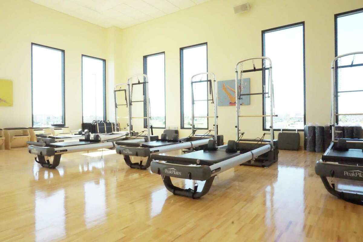 The Pilates studio at VillaSport Athletic Club and Spa in Cinco Ranch is designed to improve health by strengthening one's core. The club is slated to open Thursday, March 5.