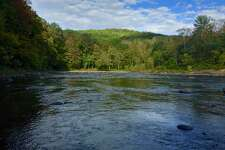 The Housatonic River flows through Kent, Conn.