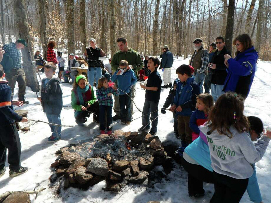 The Shelton Trails Committee will hold its annual Marshmallow March on Sunday, March 1, at 1 p.m. at Shelton Land Conservation Trust's Nicholdale Farm. Photo: Contributed Photo / Connecticut Post