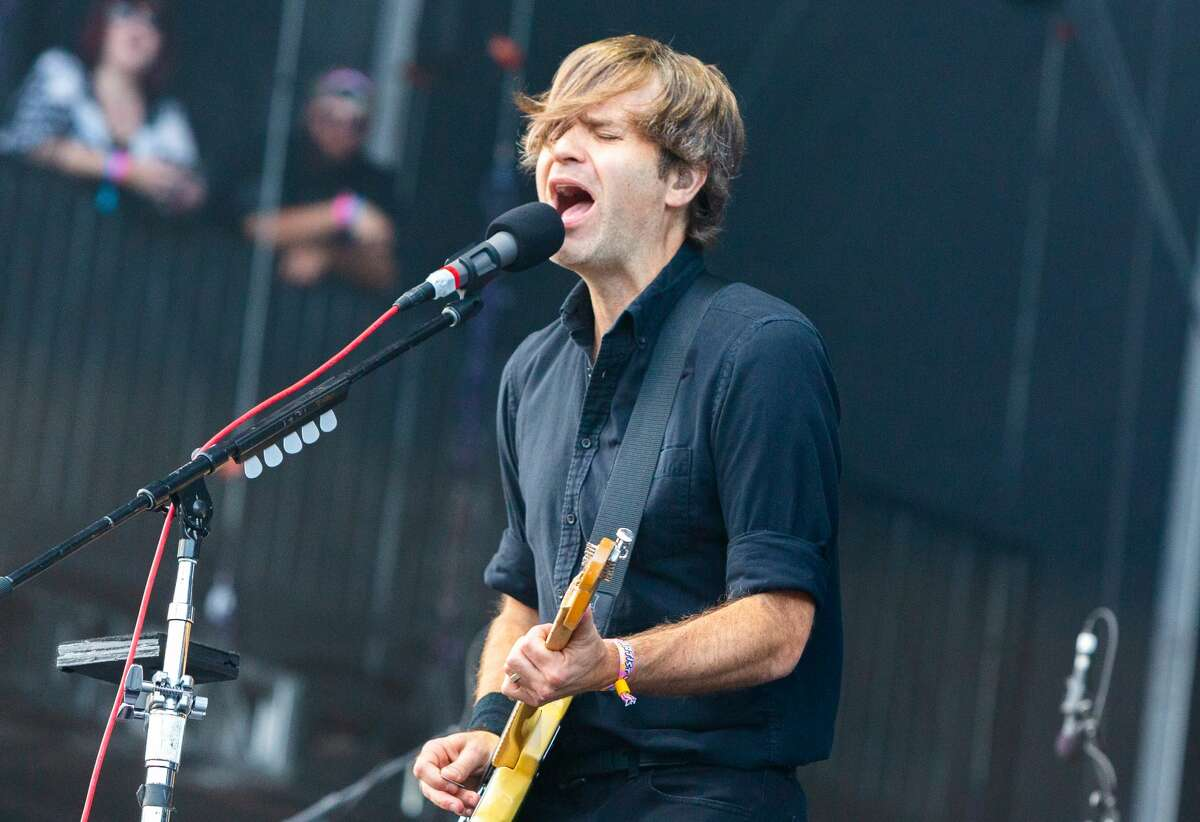 Ben Gibbard of Death Cab for Cutie performs at Lollapalooza 2019 in Grant Park on August 2, 2019 in Chicago, Illinois.