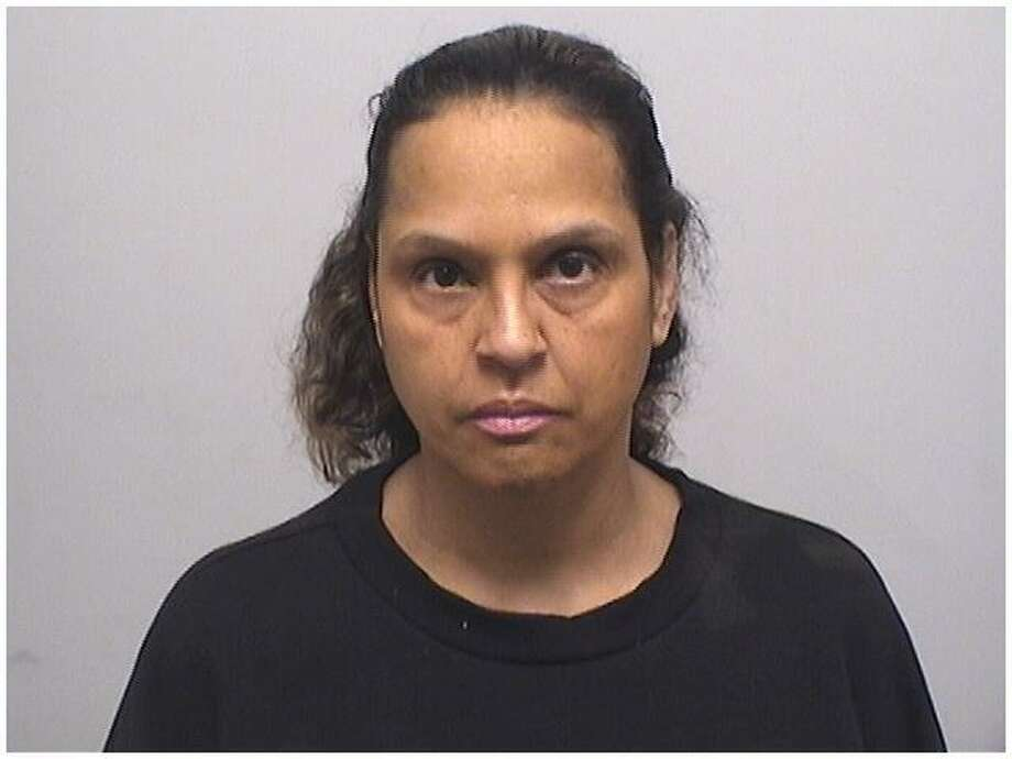 Tomasita Rojas, 50, was charged with threatening a teacher at Newfield Elementary School. Photo: Stamford Police Department / Contributed