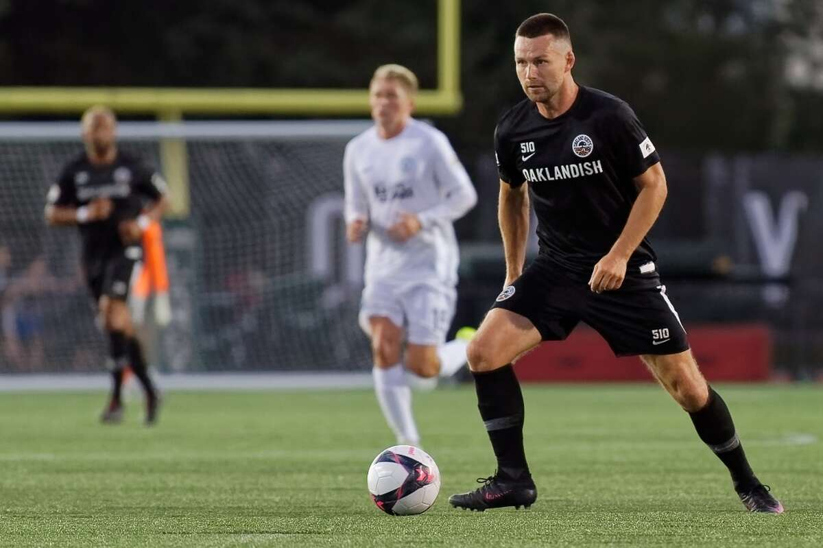 Forward Jack McInerney was the leading goal scorer for the Roots in the fall season. He previously played in the MLS for the Philadelphia Union and in the USL for Indy 11.