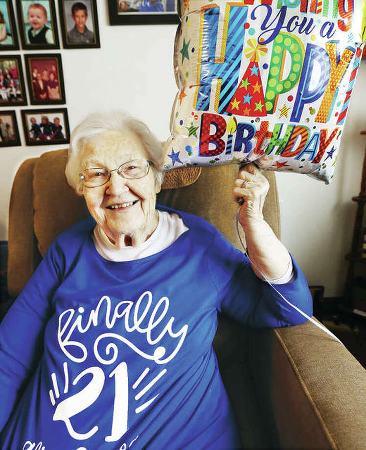 On Saturday, 84-year-old Kathern Lincoln of Bethalto is celebrating her 21st birthday. Born on a leap year, Lincoln's calendar birthdate only comes around every four years, allowing her to finally turn 21 this weekend.