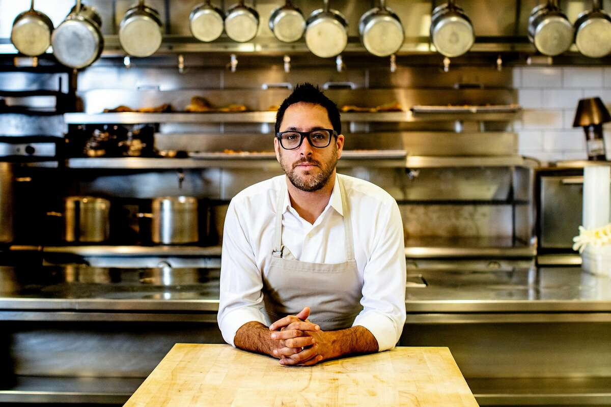 Chef Christopher Kostow at the Restaurant at Meadowood in St. Helena