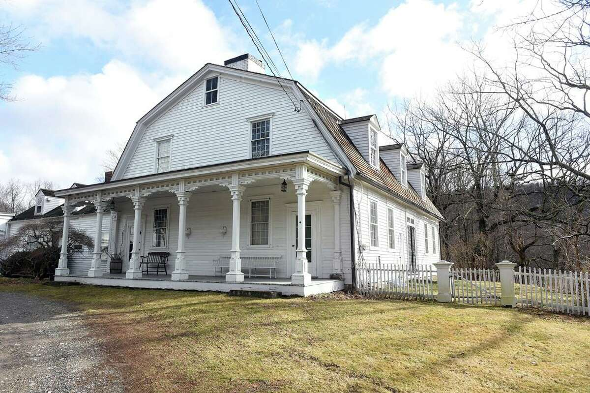 Rural Woodbridge is among the town New Yorkers are heading to, according to a Hearst Connecticut Media analysis of change of address request forms from the United States Postal Service between March and June 2020. This is the Darling House Museum in Woodbridge in 2020.