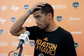 Mauro Manotas needs eight goals to tie Brian Ching for the Dynamo's career scoring record of 69.