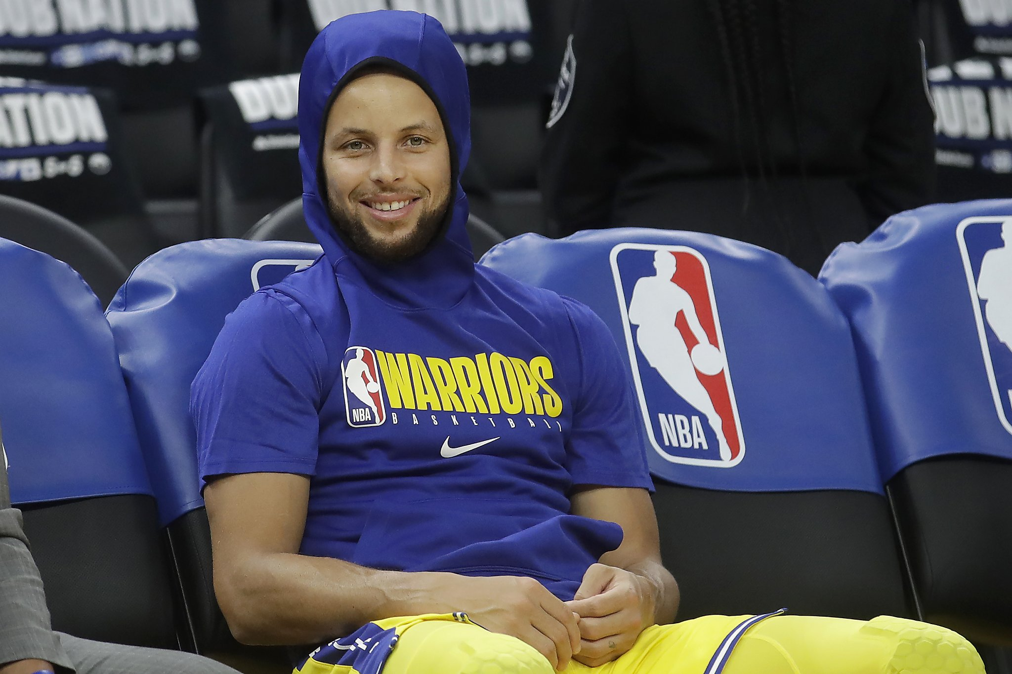 Warriors star Stephen Curry says he was the first player tested for the coronavirus